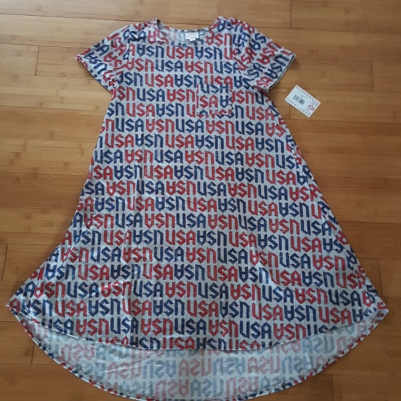 LuLaRoe Dresses & Skirts - NWT LuLaRoe Carly Hi-Low swing dress USA